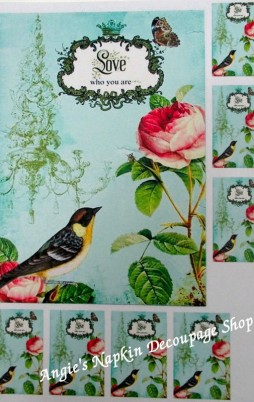 Decoupage Papers A4 Size Set 1 1007_2.00