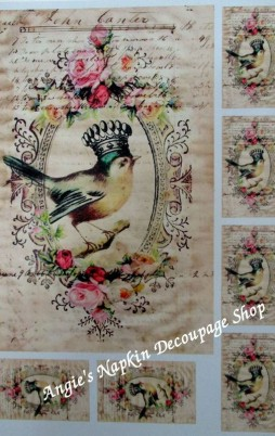 Decoupage Papers A4 Size Set 1 1008_2.00