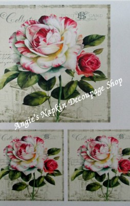Decoupage Papers A4 Size Set 1 1011_2.00
