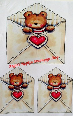 Decoupage Papers A4 Size Set 4 1002_2.00