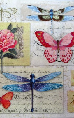 Flowers Birds & Butterflies 1005_1.00_(16.5x16.5cm)