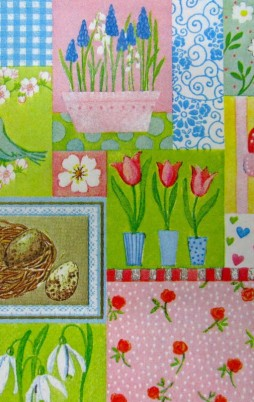 Flowers Birds & Butterflies 1011_1.00