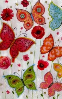 Flowers Birds & Butterflies 3009_1.00
